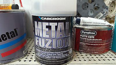Us Chemical Fuzion Premium Metal Body Filler Quart 77013