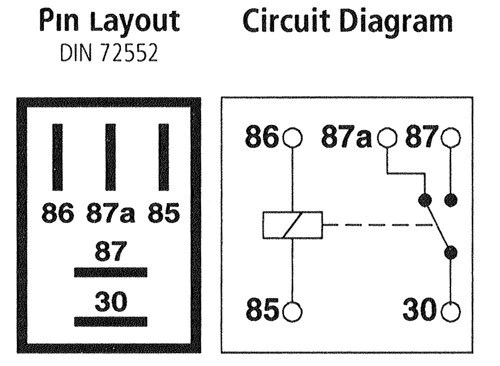 5 Blade Relay Wiring Diagram