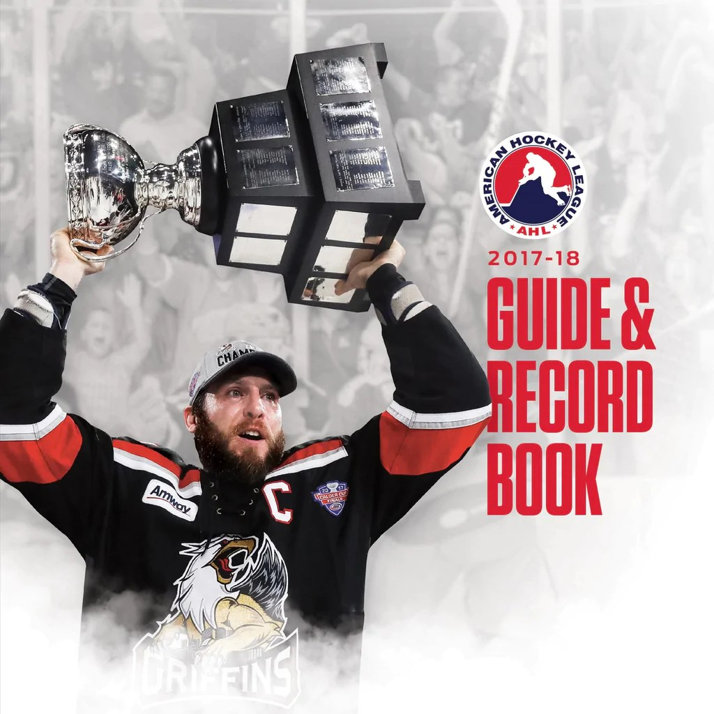 2017-18 AHL Media Guide and Record Book (CD) – ahlstore.com