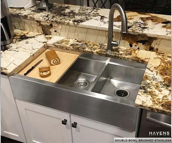 Custom Stainless Steel Sinks USA Made Havens Metal
