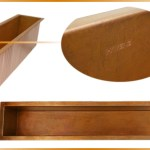 Copper And Stainless Steel Trough Sinks Usa Havens Luxury Metals