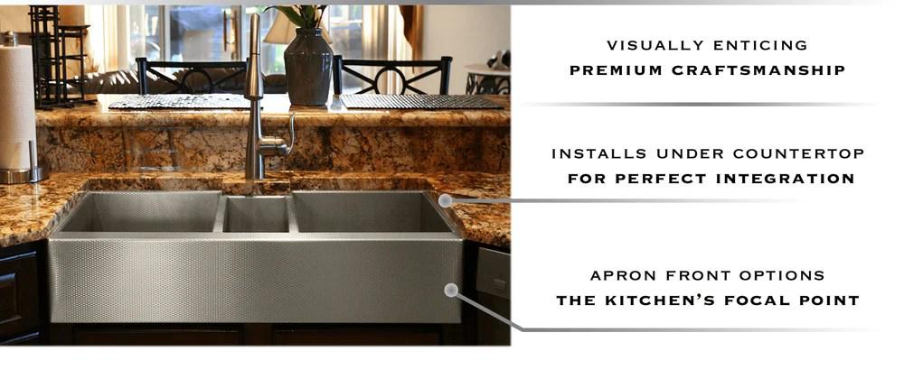 custom stainless steel sinks usa