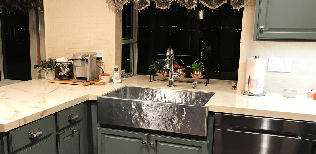 hammered sinks copper stainless