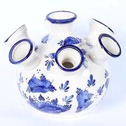 delft blue tulip vase