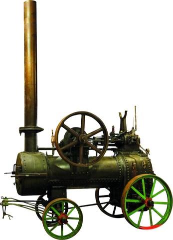 Badenia Stoommachine