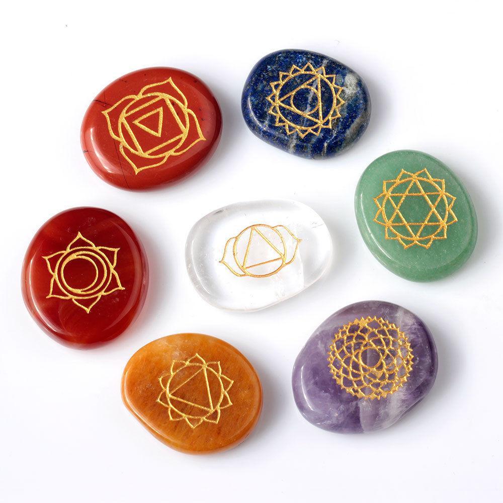 Healing Chakra Stones Soul Charms