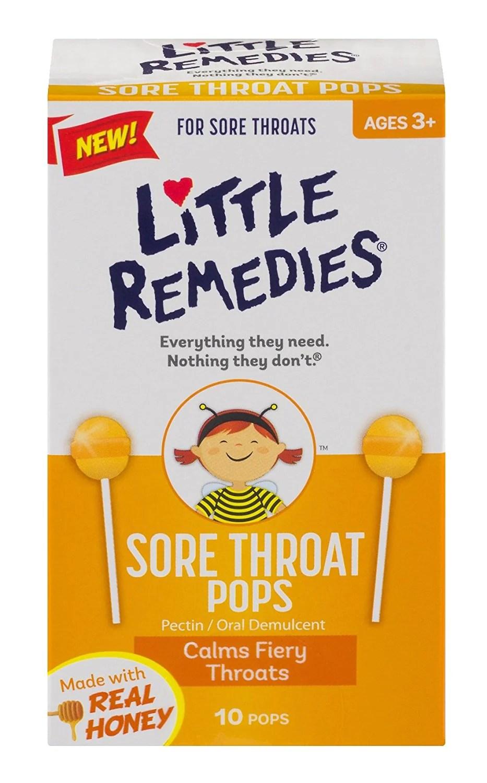 Little Remedies小鼻子 - 蜂蜜止咳棒棒糖 (黃色) (756184108604) – Aswell Baby