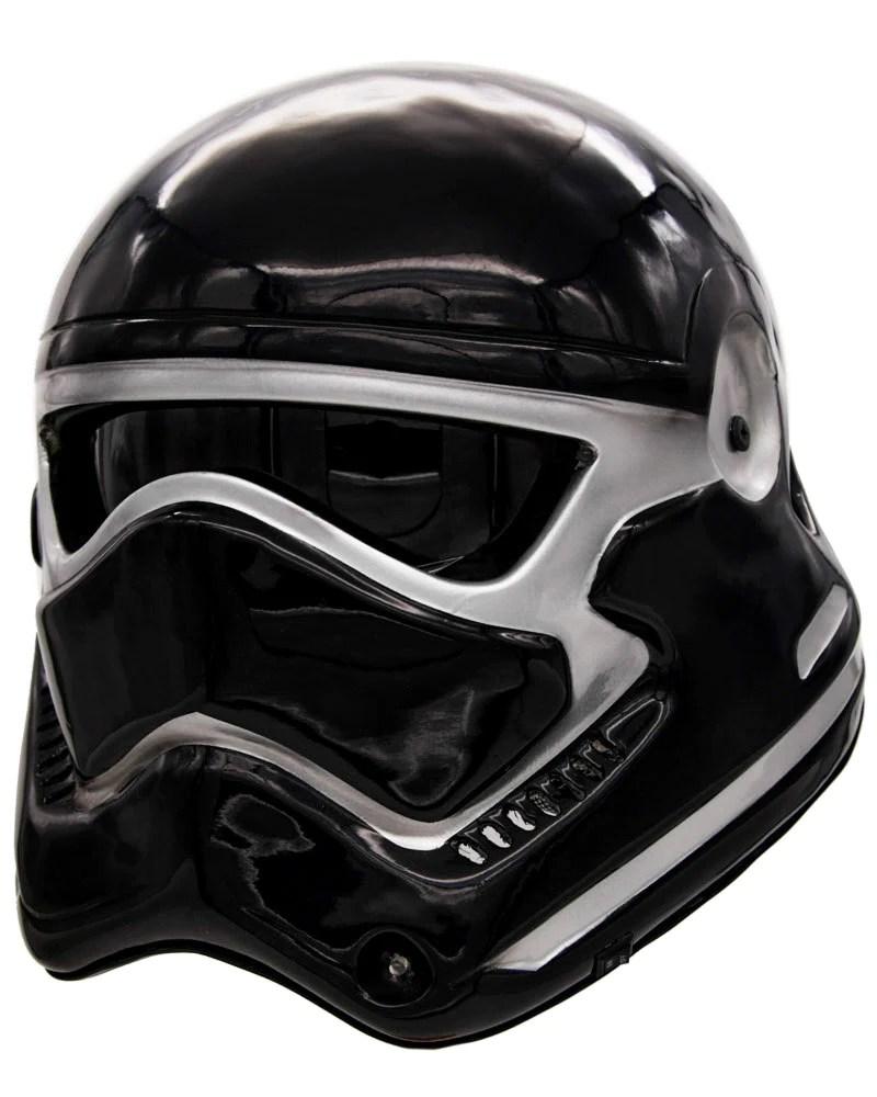 Black Stormtrooper Motorcycle Helmet
