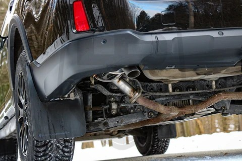 2011 subaru outback exhaust