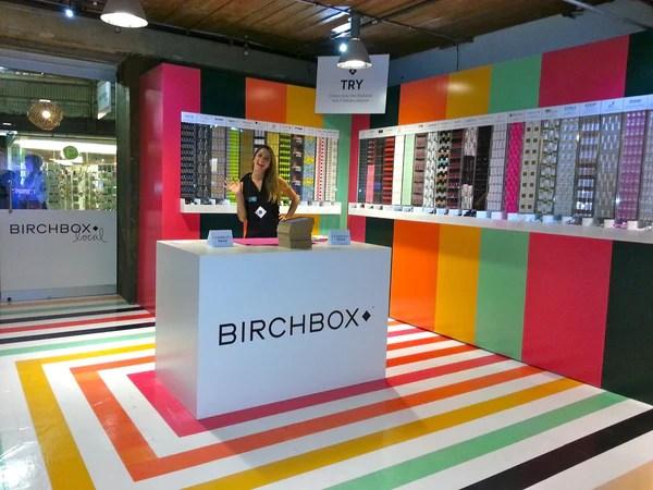 Birchbox pop-up shop | Shopify Retail blog