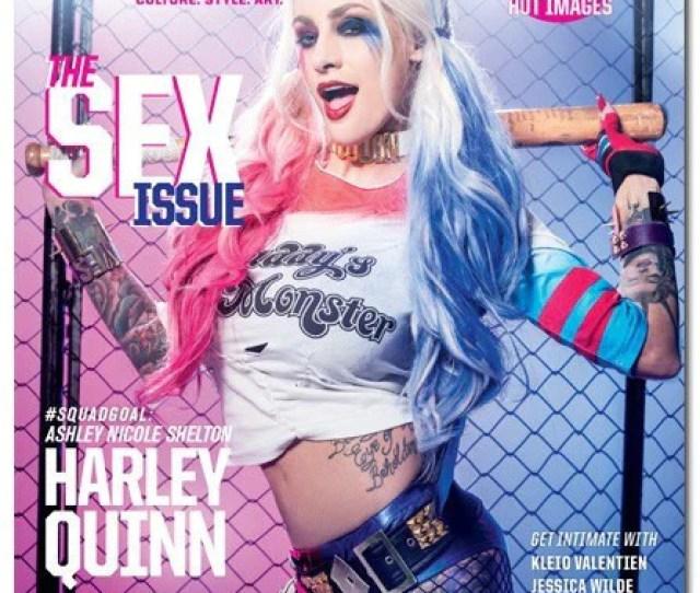 Inked Magazine The Sex Issue Featuring Ashley Nicole Shelton August  Www