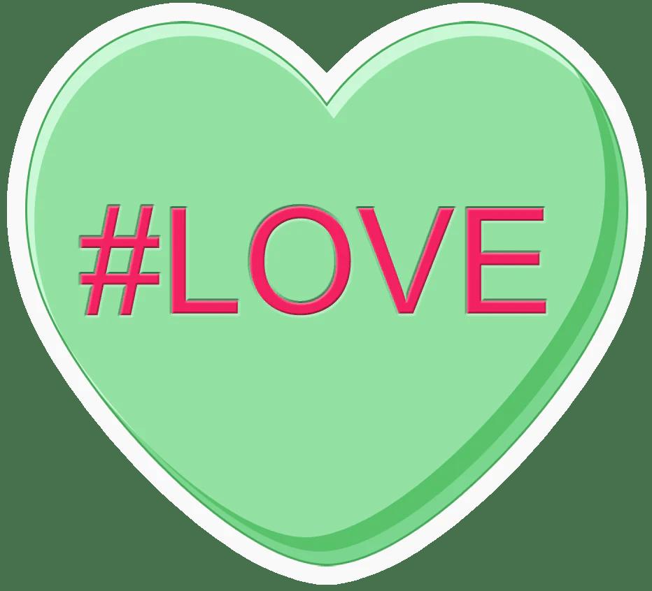Conversation Hearts POP Studios Props