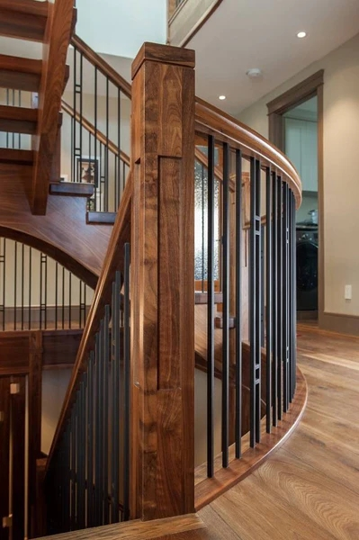 Guide 4 Ingredients To Define Your Personal Stair Railing Style | Modern Newel Post Designs | White | Maple | Banister | Oak | Interior