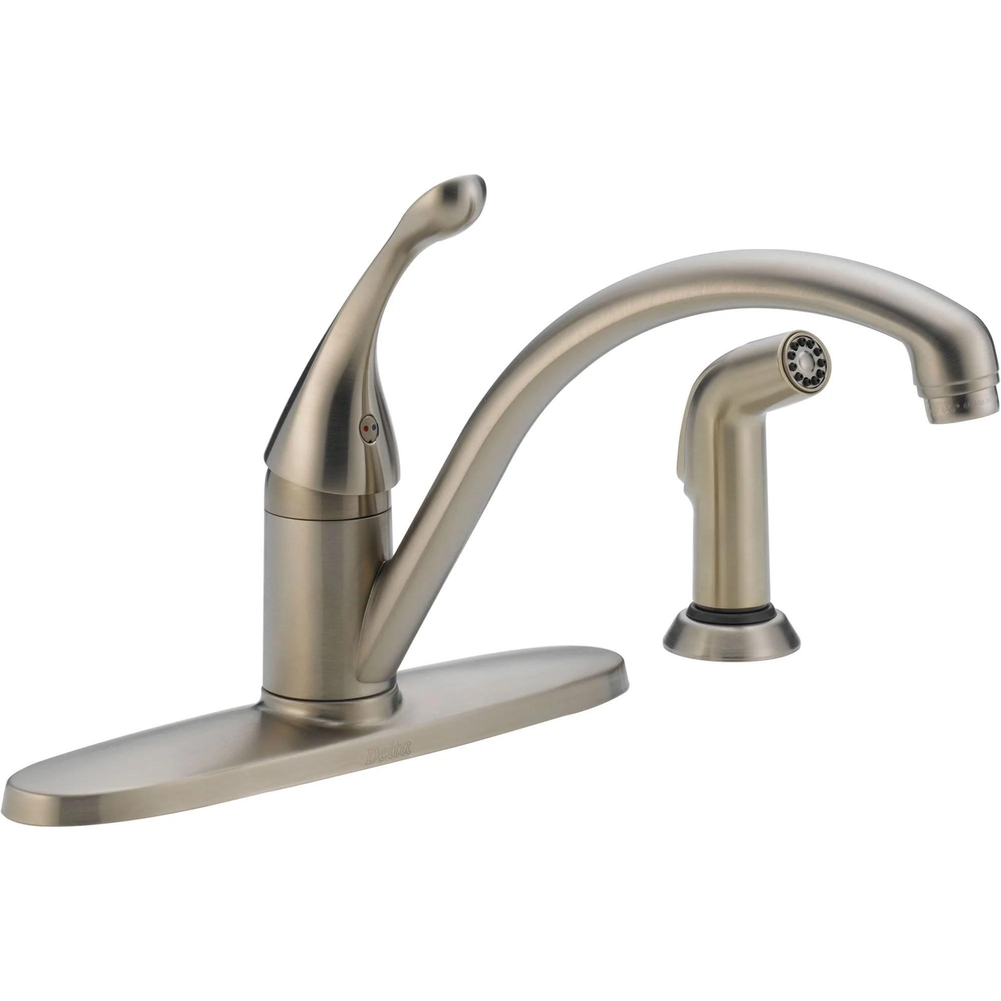 four hole kitchen sink faucet