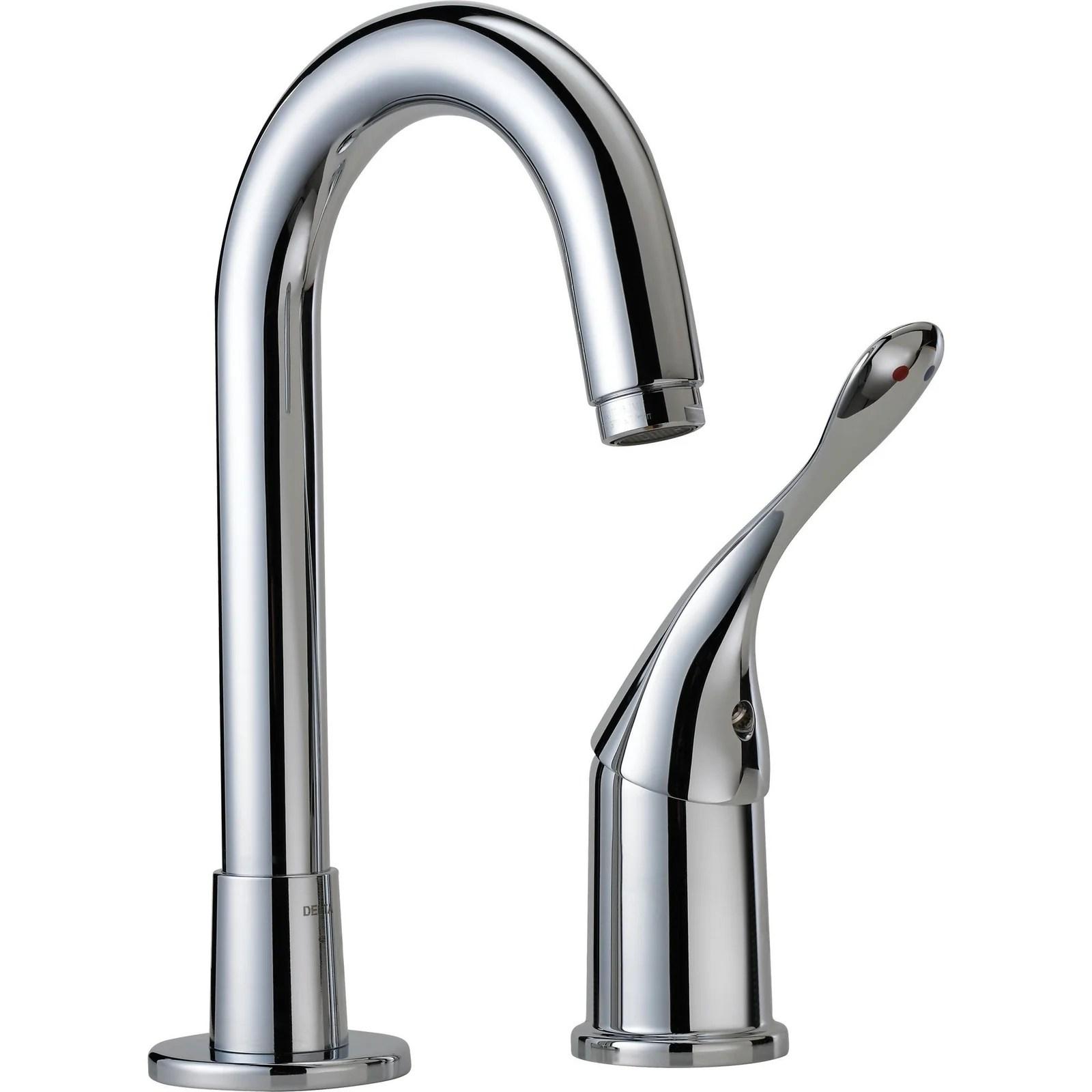 double hole bar prep sink faucet