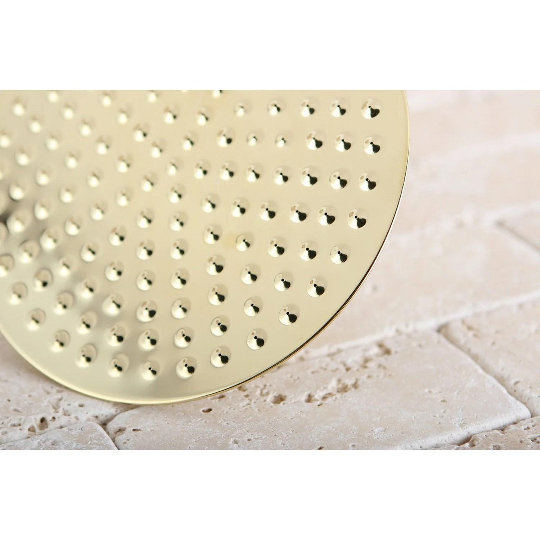 Polished Brass Shower Heads 8 Best Rain Shower Head K136a2