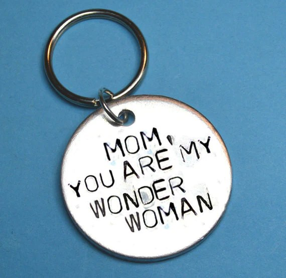 """Mothers day gift - Quote - """"Mom, You Are My Wonderwoman ..."""