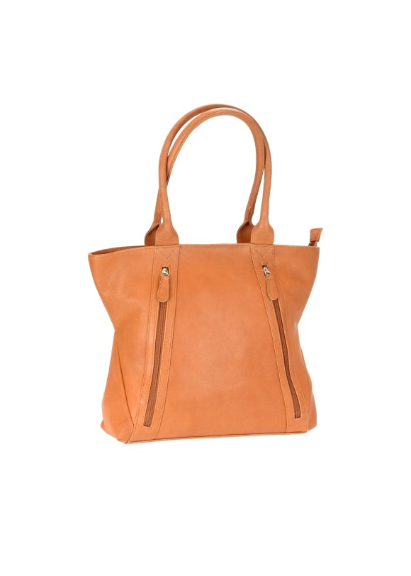 CTM® Women's Concealed Carry Leather Tote Handbag