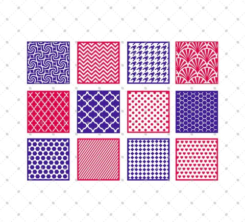 Download SVG Cut Files for Cricut and Silhouette - Circle Patterns ...
