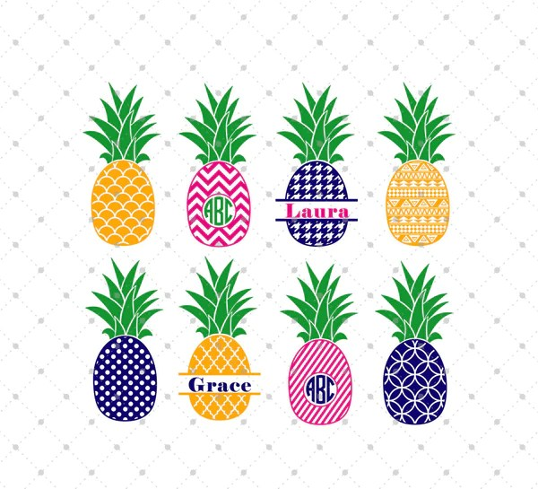 Download SVG Cut Files for Cricut and Silhouette - Pineapple Files ...