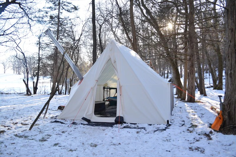 Stove Canvas Wall Tent