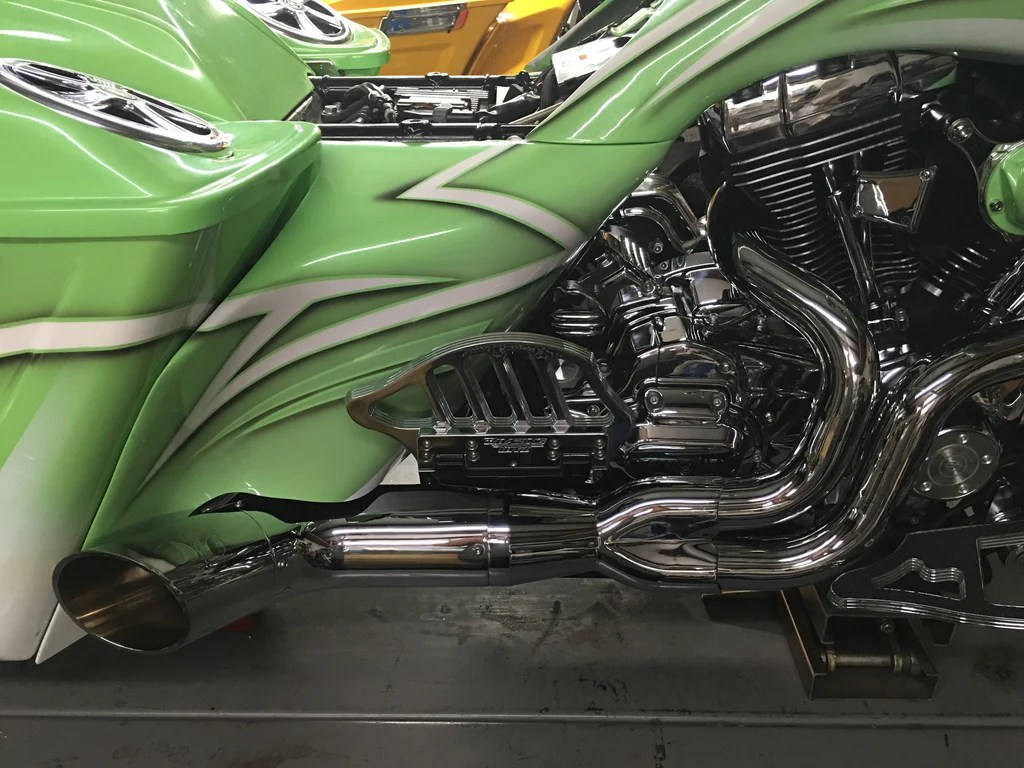kso extended tip for python rayzer exhaust available in chrome or black