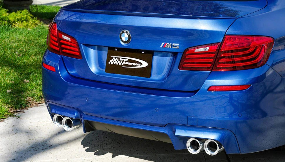 bms bmw f10 f12 f13 billet 3 75 straight cut exhaust tips m5 m6