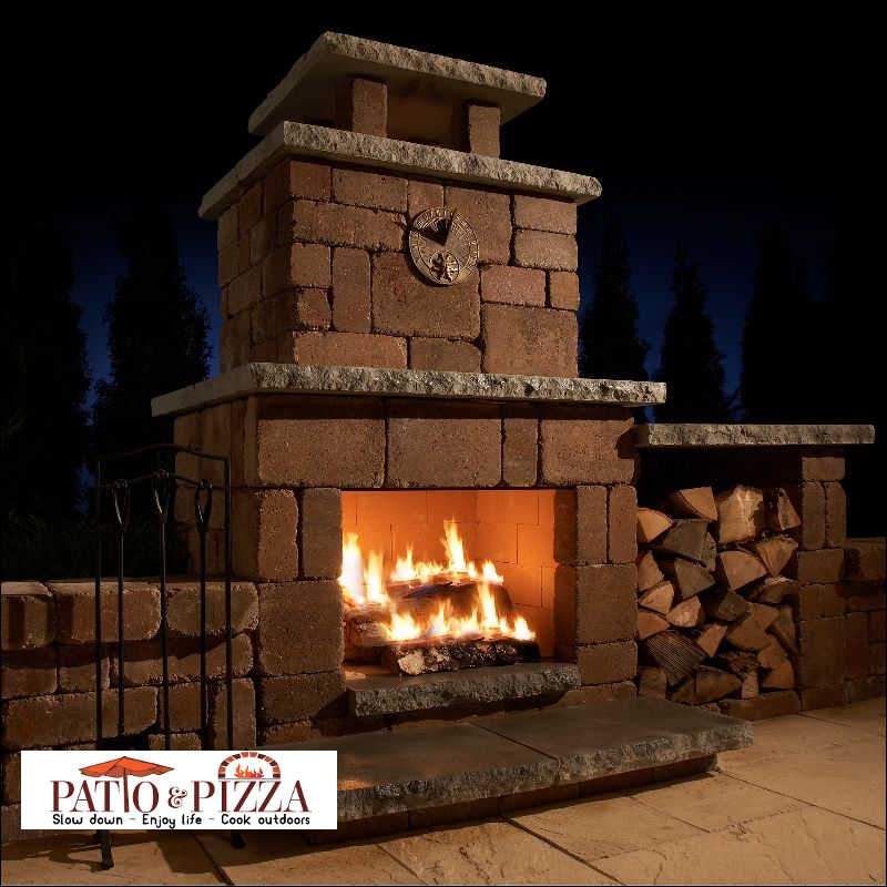 compact fireplace kit by necessories