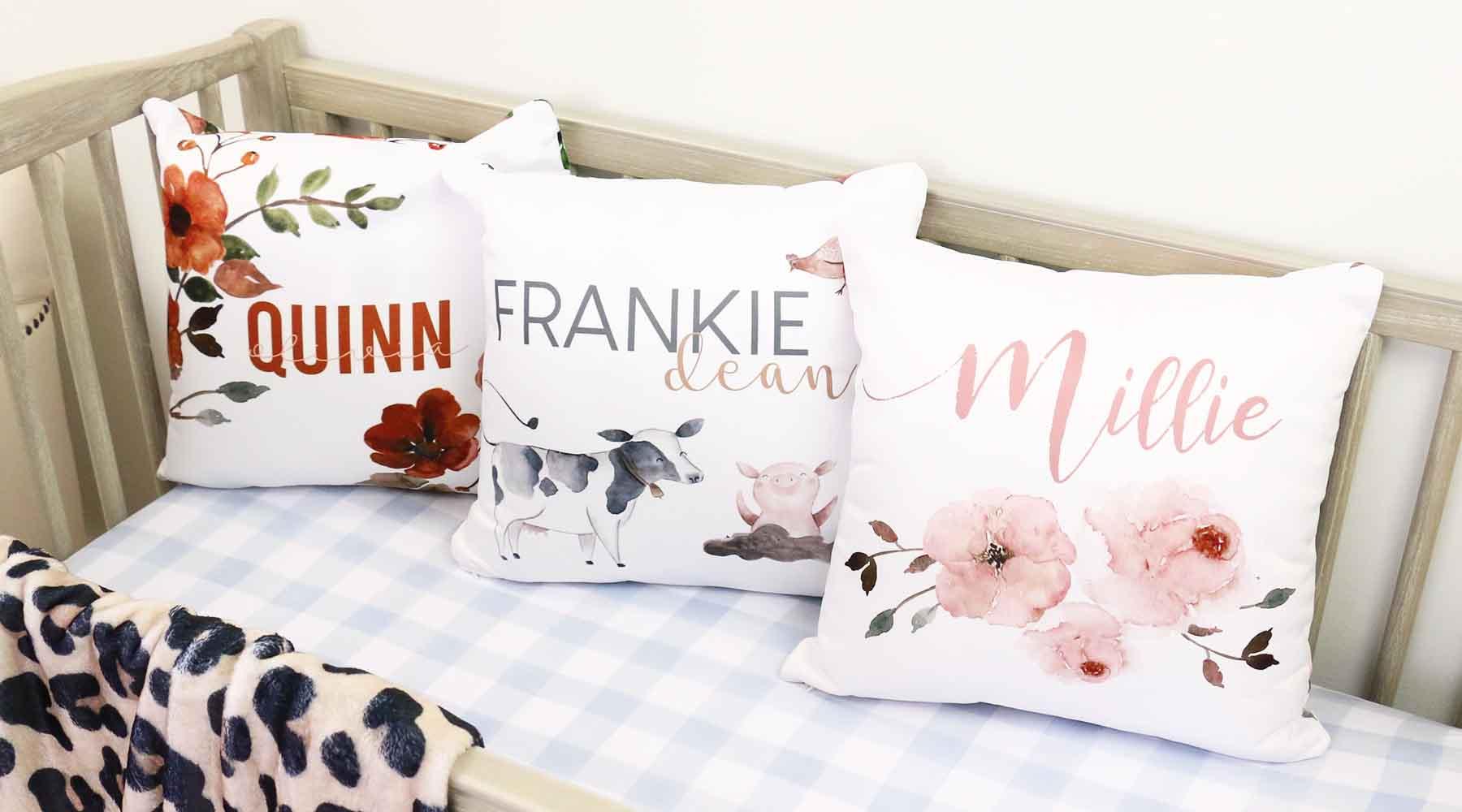 nursery throw pillows caden lane