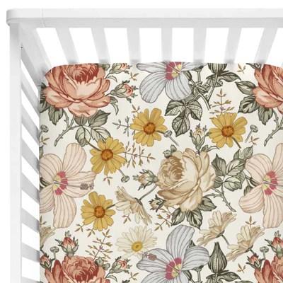 peyton s vintage floral baby bedding