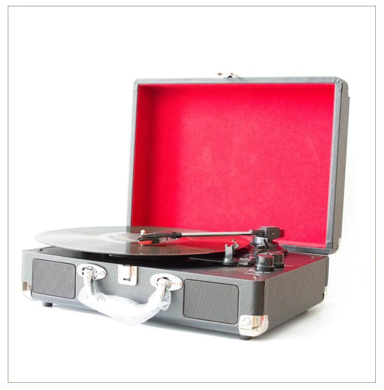 藍牙復古黑膠唱片機 Bluetooth Vinyl Record Player – Jay-MS Store