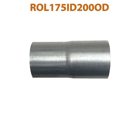 rol175id200od 548507 1 3 4 id to 2 od universal exhaust pipe to component adapter reducer