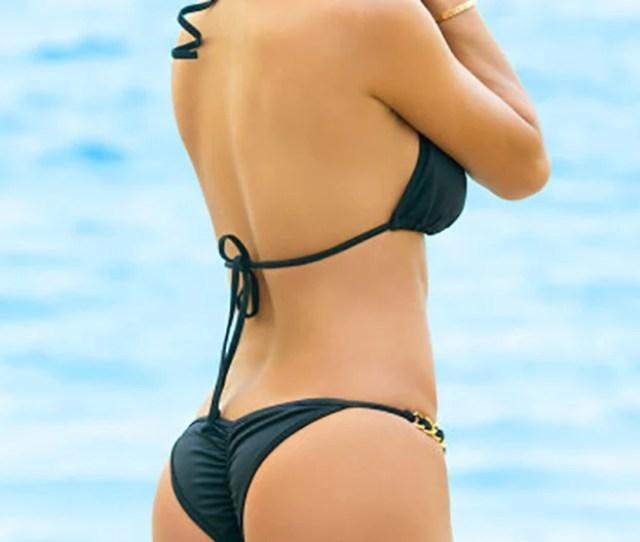 Chynna Dolls Swimwear Oahu Got Me In Chains Bikini Black