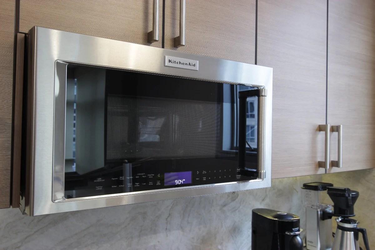 kitchenaid 30 over the range microwave