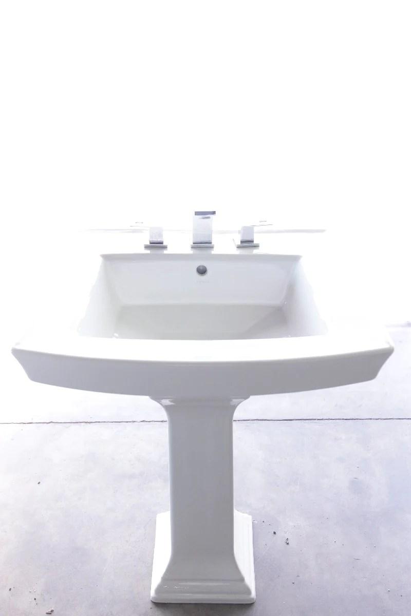 kohler archer 24 pedestal sink