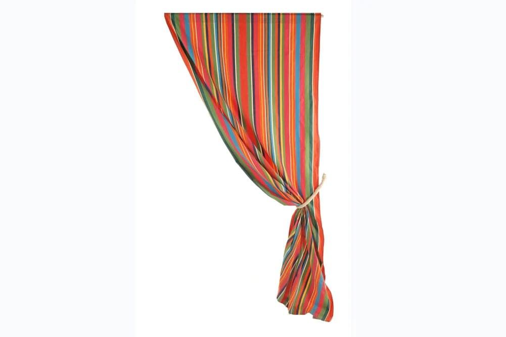 dulce stripes rod pocket curtain panel