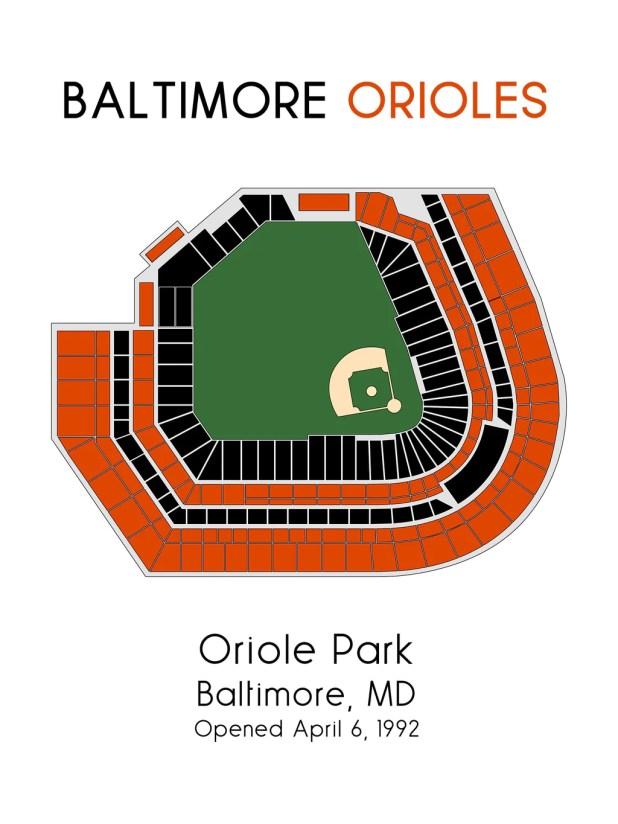 Baltimore Orioles Stadium Seat Chart Brokeasshome Com