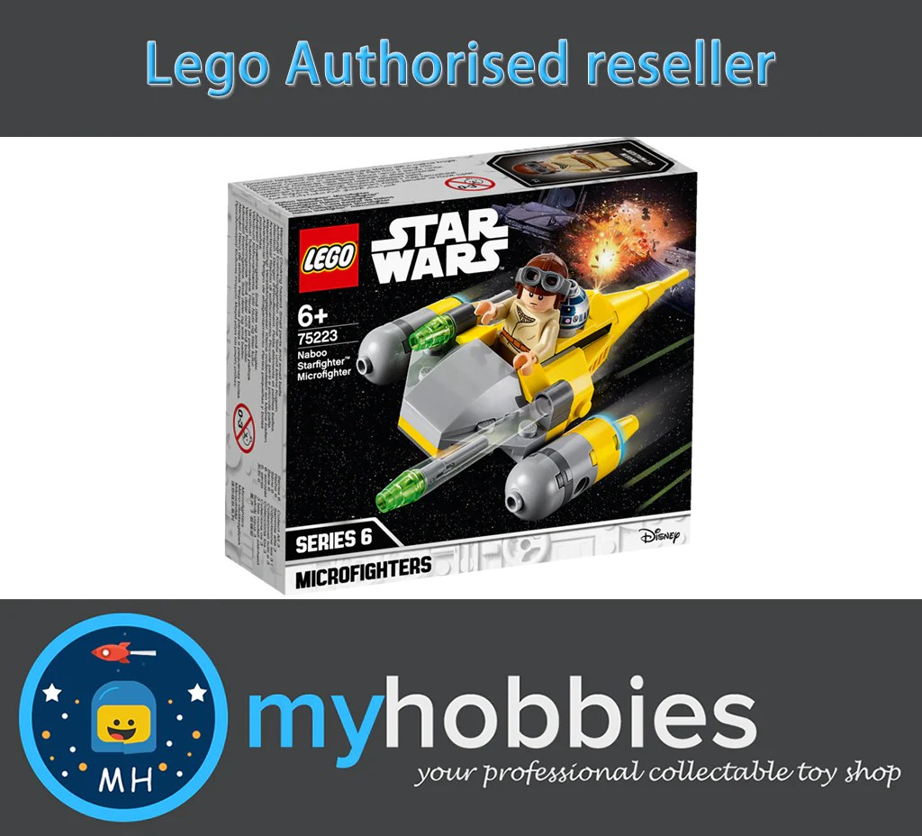 Lego 75223 Star Wars Naboo Starfighter Microfighter