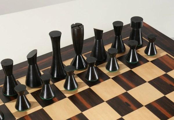 """19"""" Modern Chess Set"""