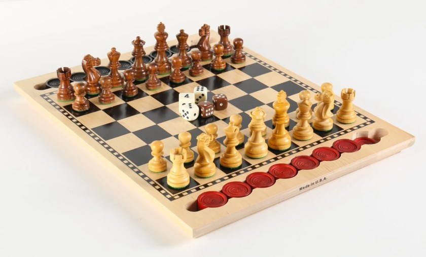 3-in-1 Game Set - USA Made