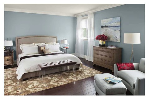 5 COLORS THAT PROMOTE SLEEP   Advanced Sleep Solutions     your bedroom  think of light blues  earth tones or soft  muted colors   Stay away from any bright  bold colors because they promote energy and will  make