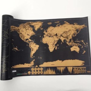 Buy Scratch World Map Travel Gift Online India     Bigsmall in     Scratch World Map   bigsmall in