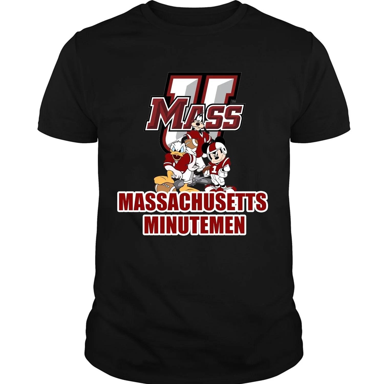 NCAA UMass Minutemen T-Shirt V3