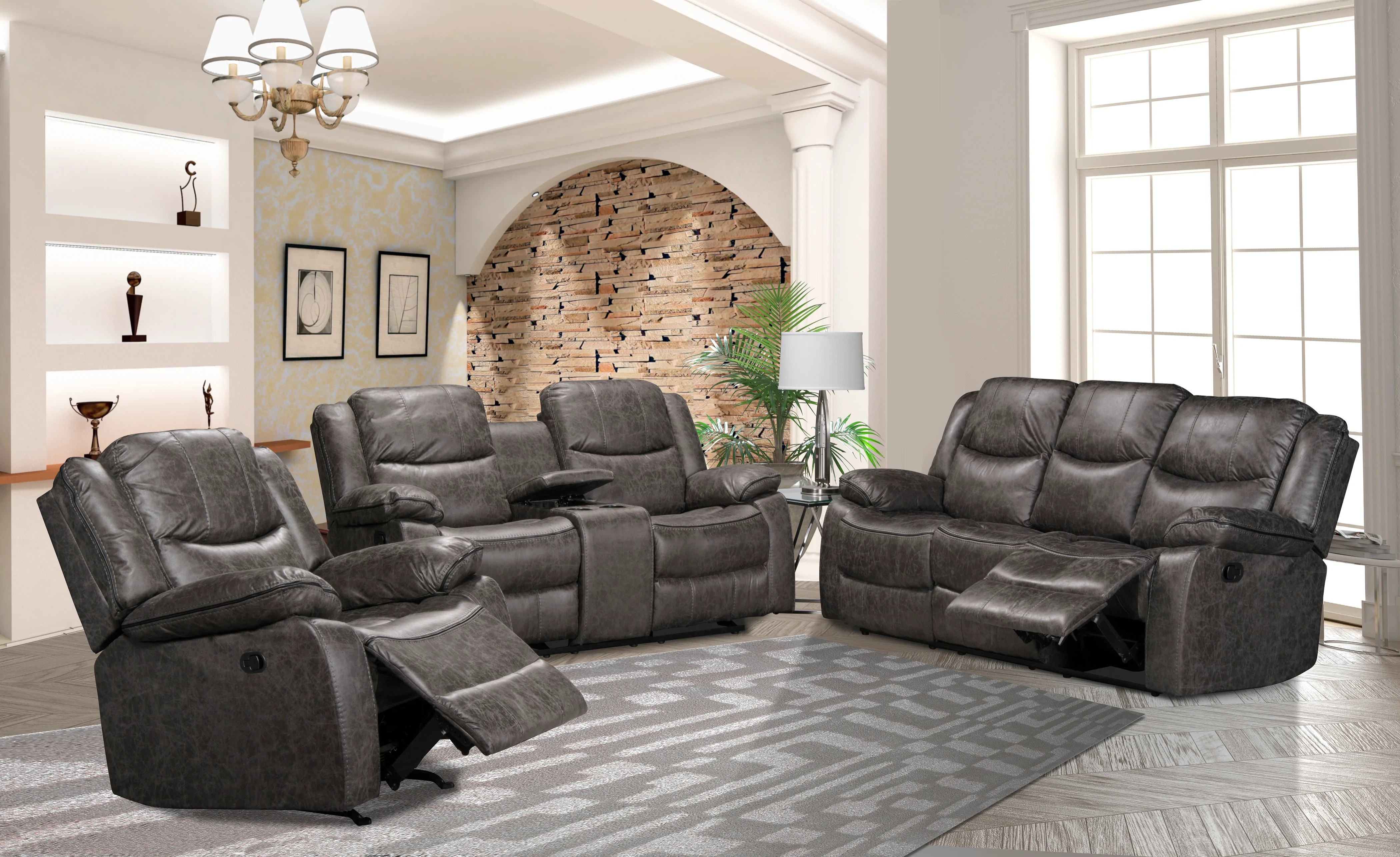 good quality affordable sofa sectional linen style fabric charcoal graphite in kitchener waterloo and cambridge area payless furniture