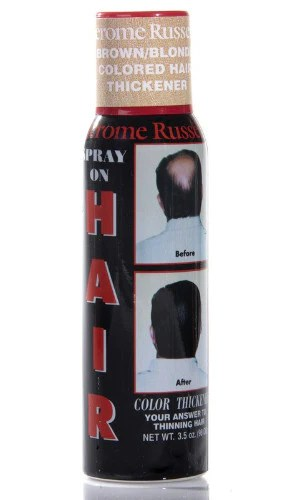 Jerome Russell Spray On Hair Color Thickener 35 Oz