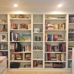 Diy Project Built In Ikea Billy Bookcase Lux Hax