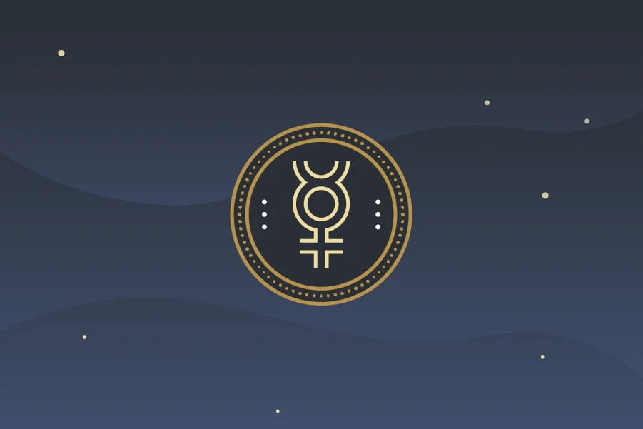 Mercury Astrology Symbol Characteristics Planet Energy