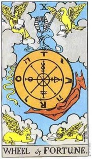 Image result for wheel of fortune tarot