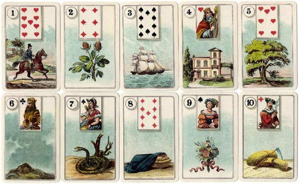 Cartomancy - The Origin of The Divination Cards - Tarot Cards