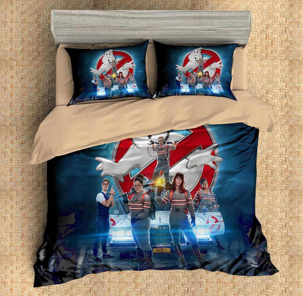 3D Customize Ghostbusters Bedding Set Duvet Cover Set